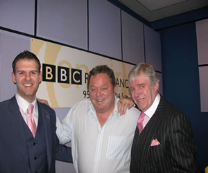 February 2009, at BBC Radio Lancashire, Interview With Ted Robbins Regarding Bespoke Tailoring And Suit Styles