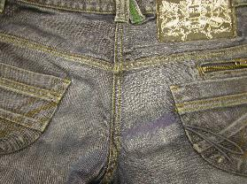 After, new denim and overstitch work for a decent repair